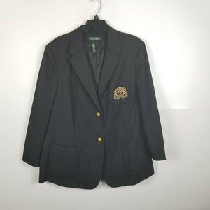 Lauren Ralph Lauren Wool Jacket Black